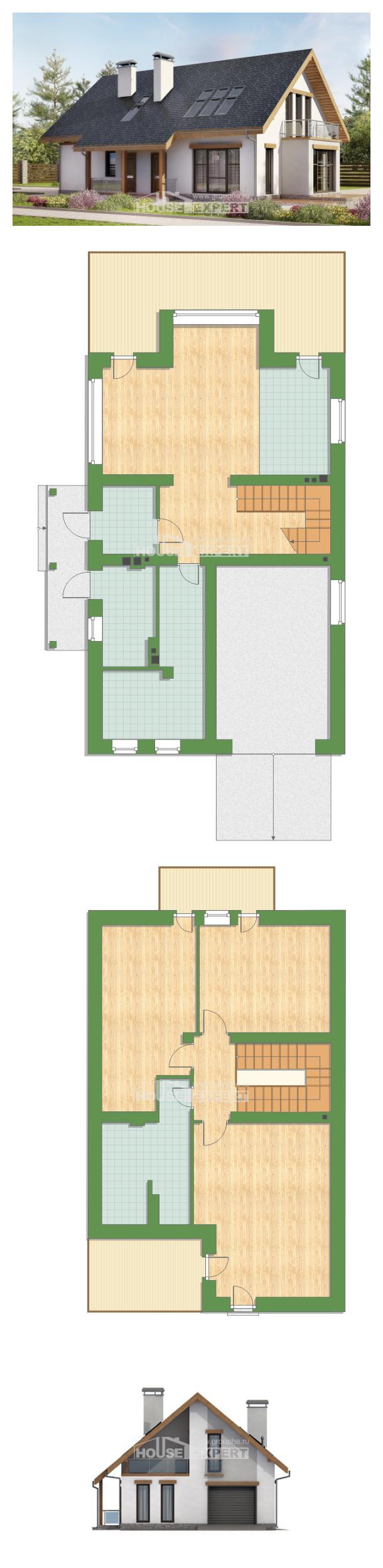 Проект дома 185-005-П | House Expert