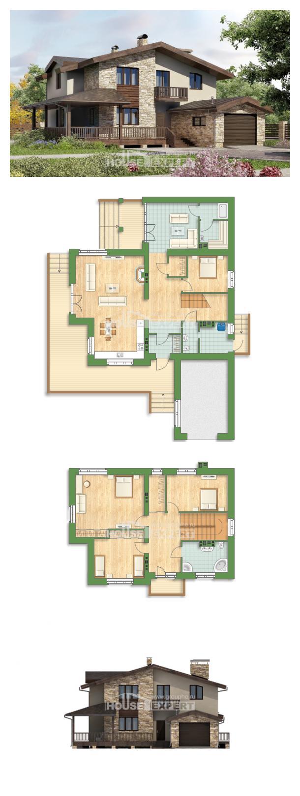 Проект дома 220-001-Л   House Expert