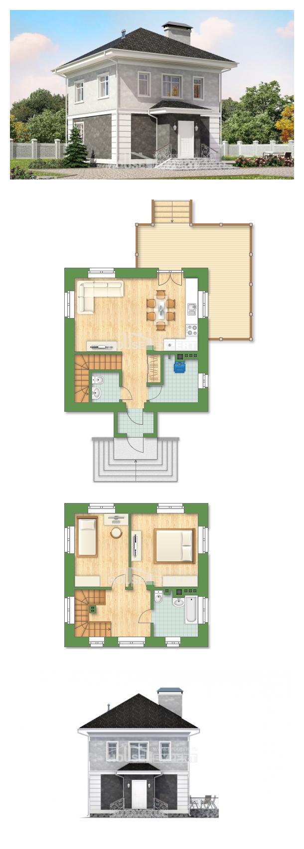 Проект дома 090-003-П   House Expert