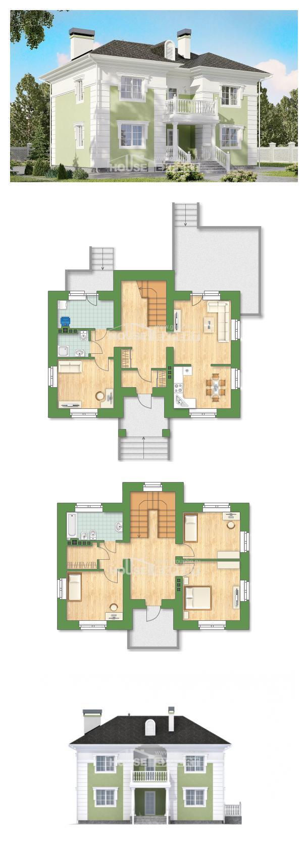 Проект дома 155-005-П   House Expert