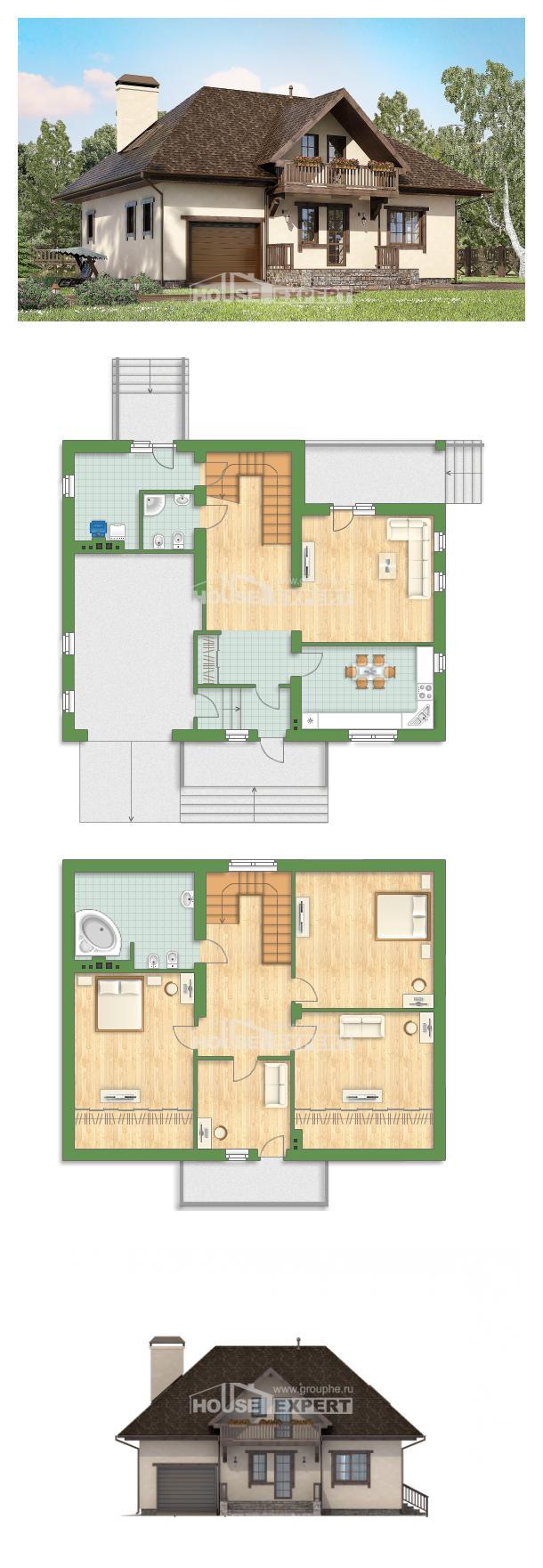 Проект дома 200-001-Л | House Expert