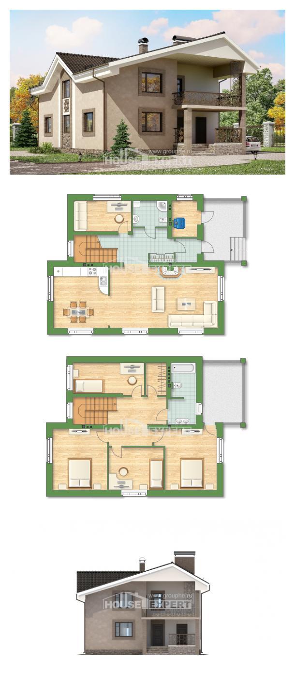 Проект дома 210-003-П | House Expert