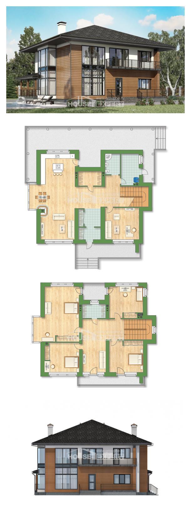 Проект дома 245-001-П | House Expert