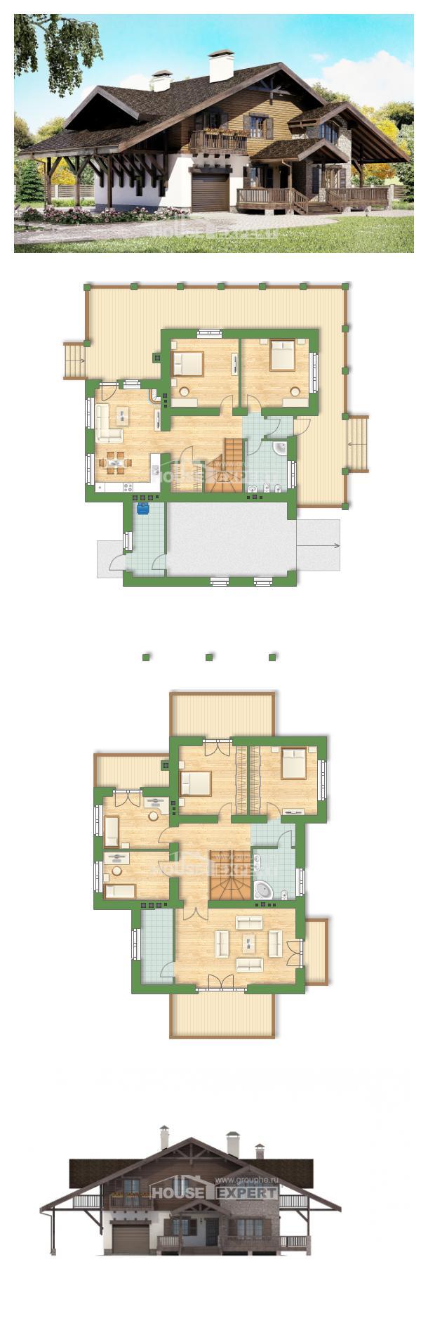 Проект дома 270-001-Л   House Expert