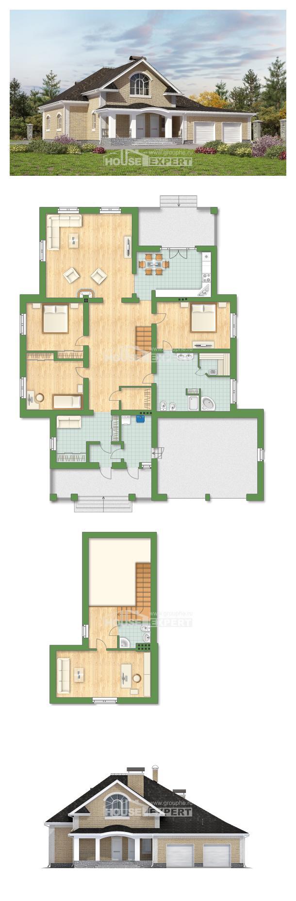 Проект дома 290-001-П   House Expert