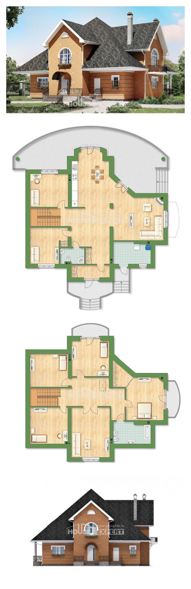 Проект дома 310-001-П | House Expert