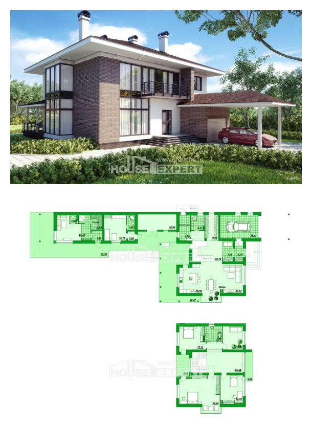Проект дома 340-001-П | House Expert