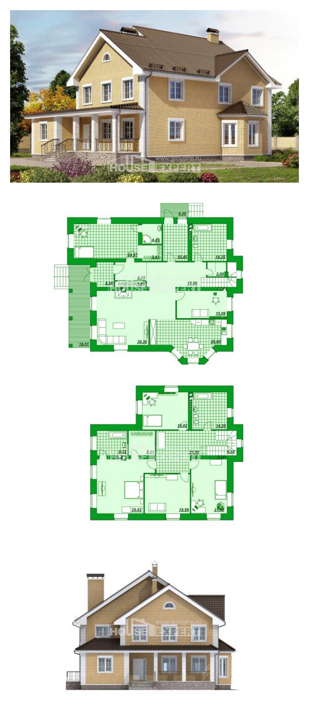 Проект дома 320-003-Л | House Expert