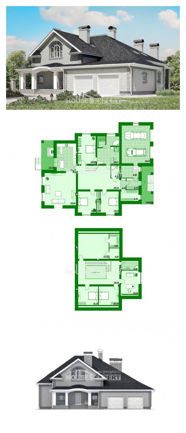 Проект дома 385-001-П   House Expert