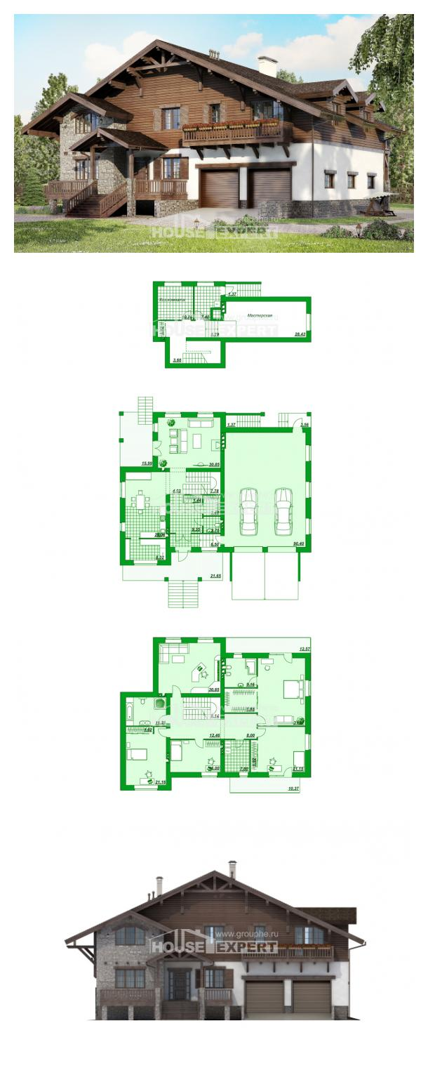 Проект дома 440-001-П | House Expert