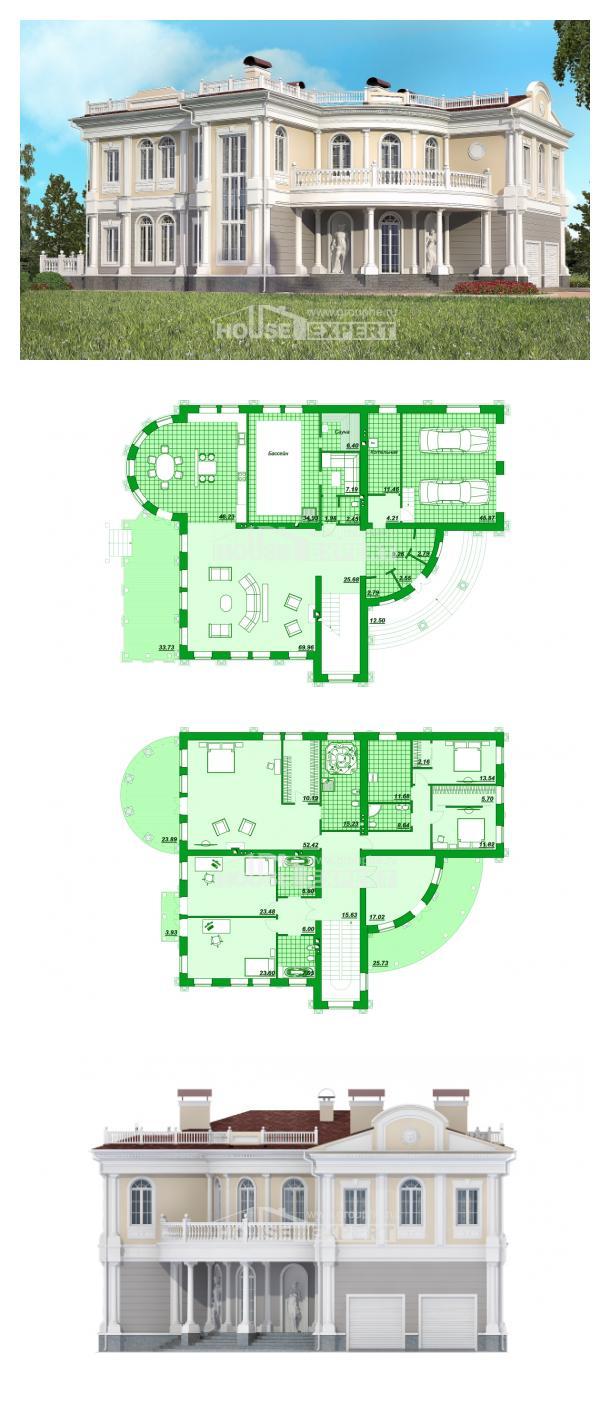 Проект дома 505-001-П   House Expert