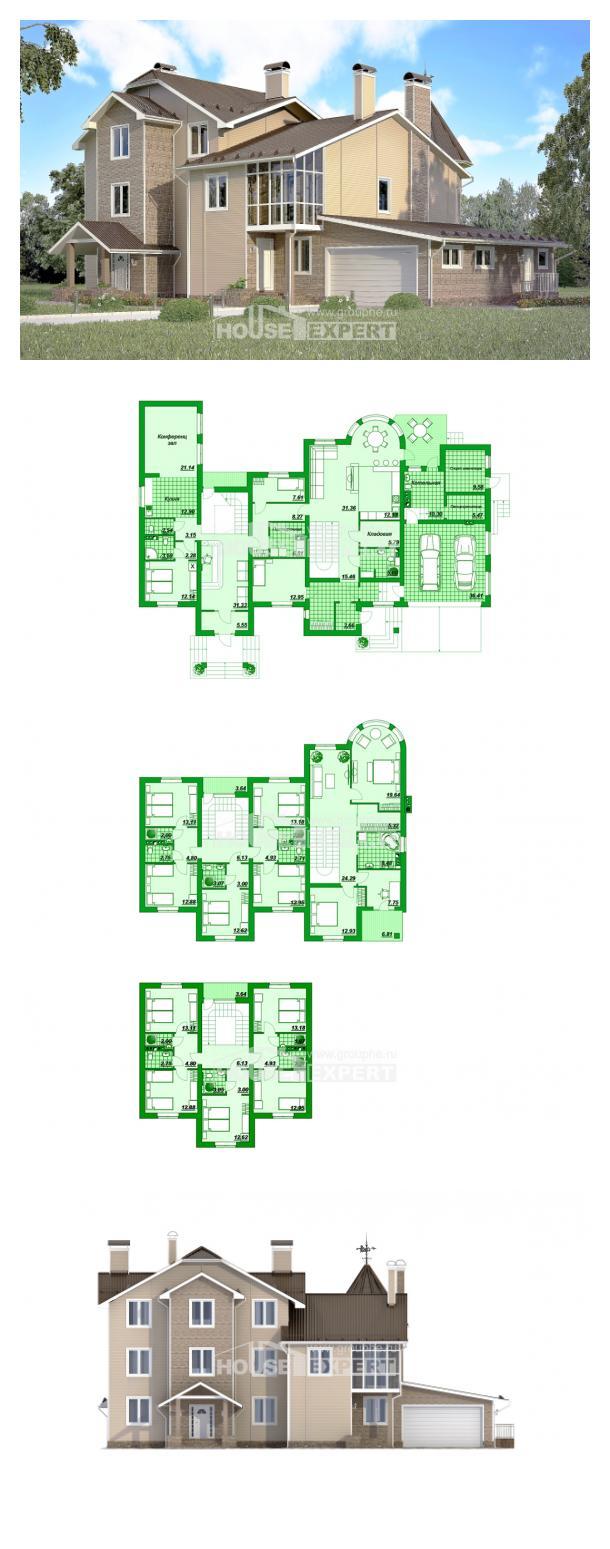 Проект дома 555-001-Л | House Expert