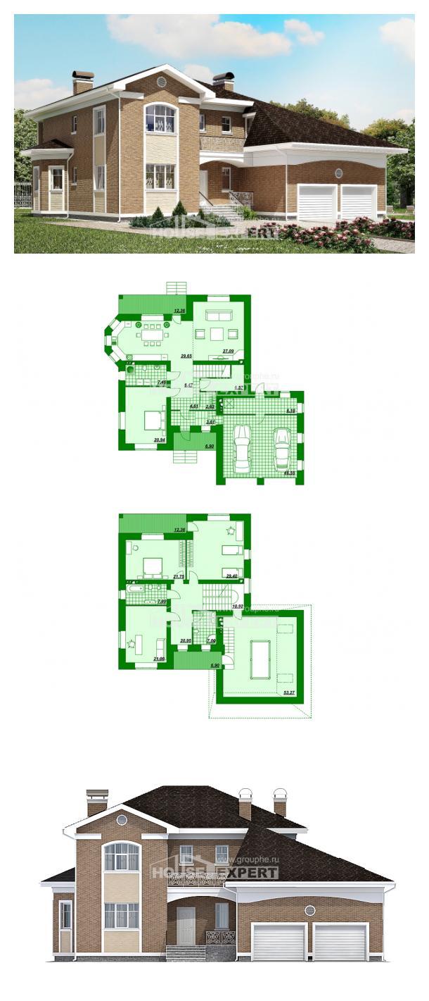 Проект дома 335-002-П   House Expert