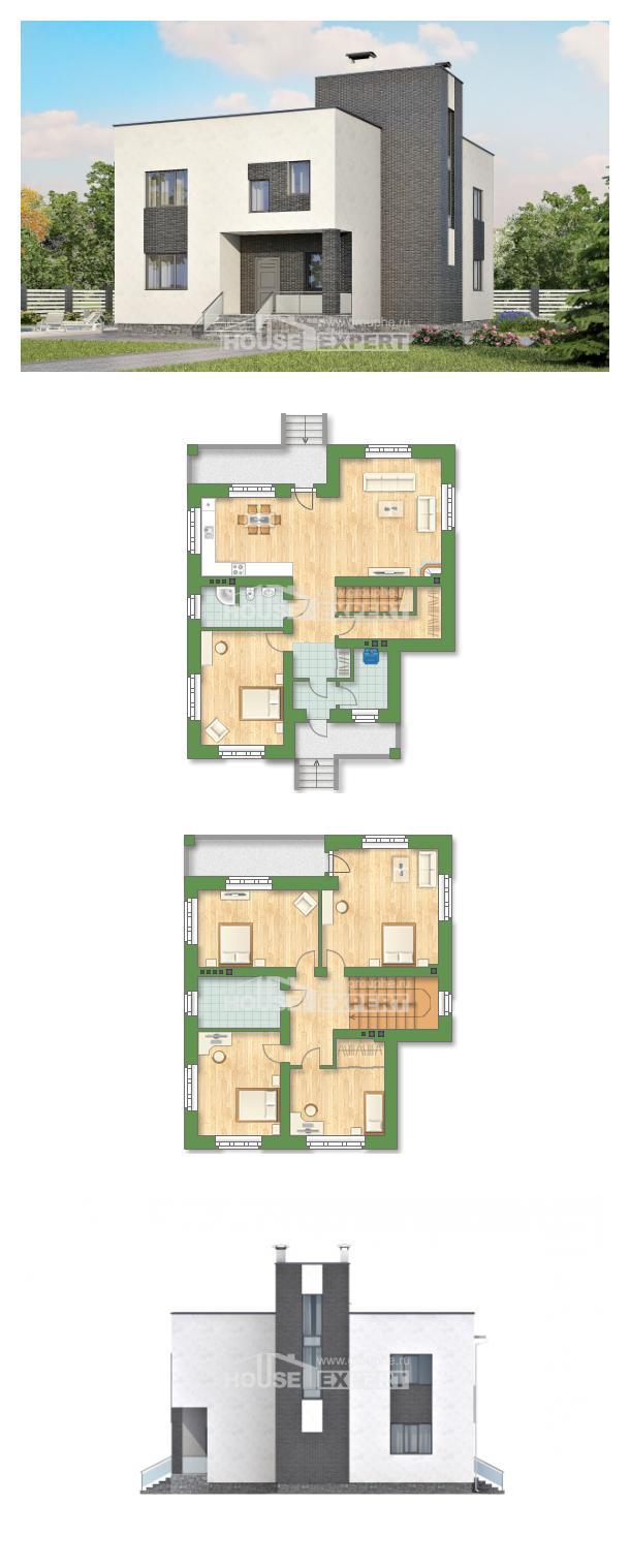Проект дома 225-001-П | House Expert