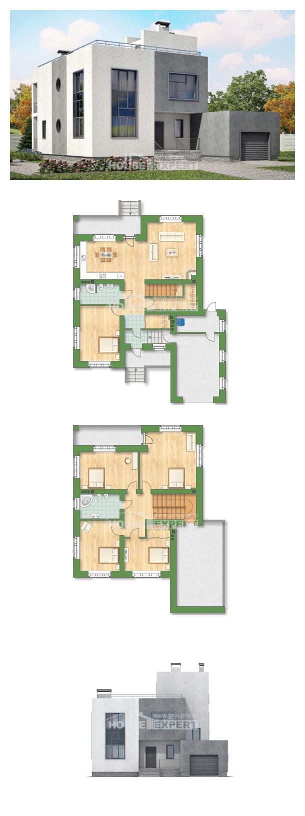 Проект дома 255-001-П | House Expert