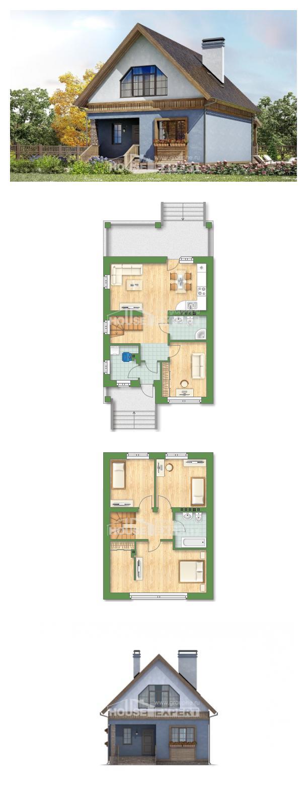 Проект дома 130-003-Л   House Expert
