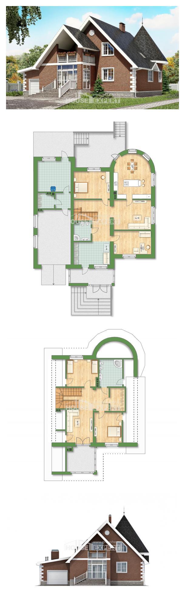 Проект дома 220-002-Л | House Expert