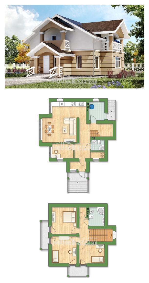 Проект дома 155-009-П   House Expert