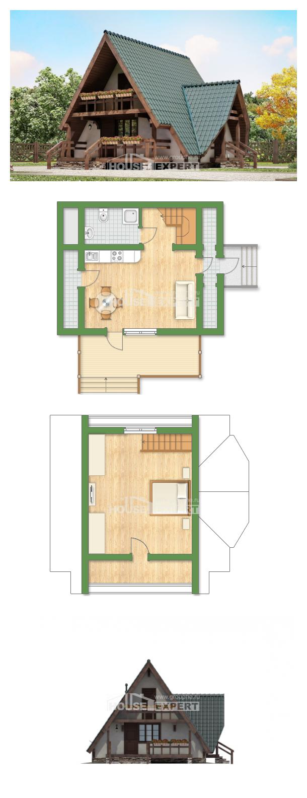 Проект дома 070-003-П | House Expert