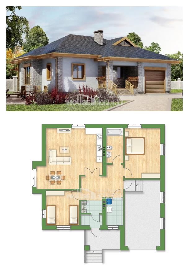 Проект дома 130-006-П   House Expert