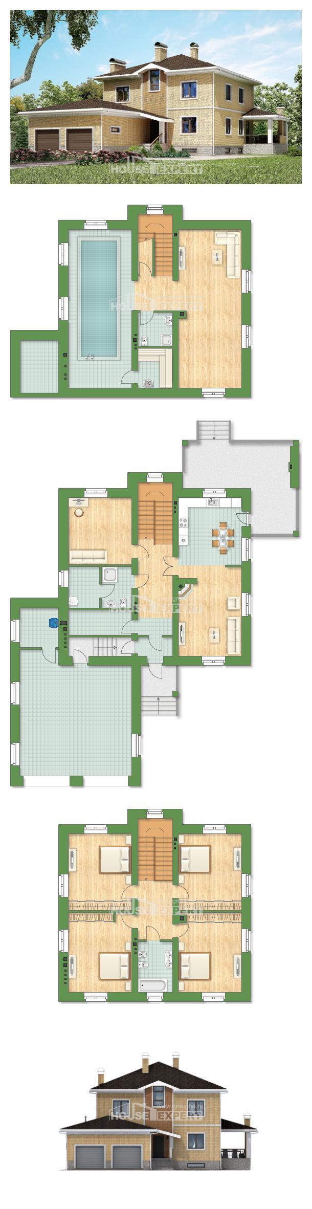 Проект дома 350-002-Л | House Expert
