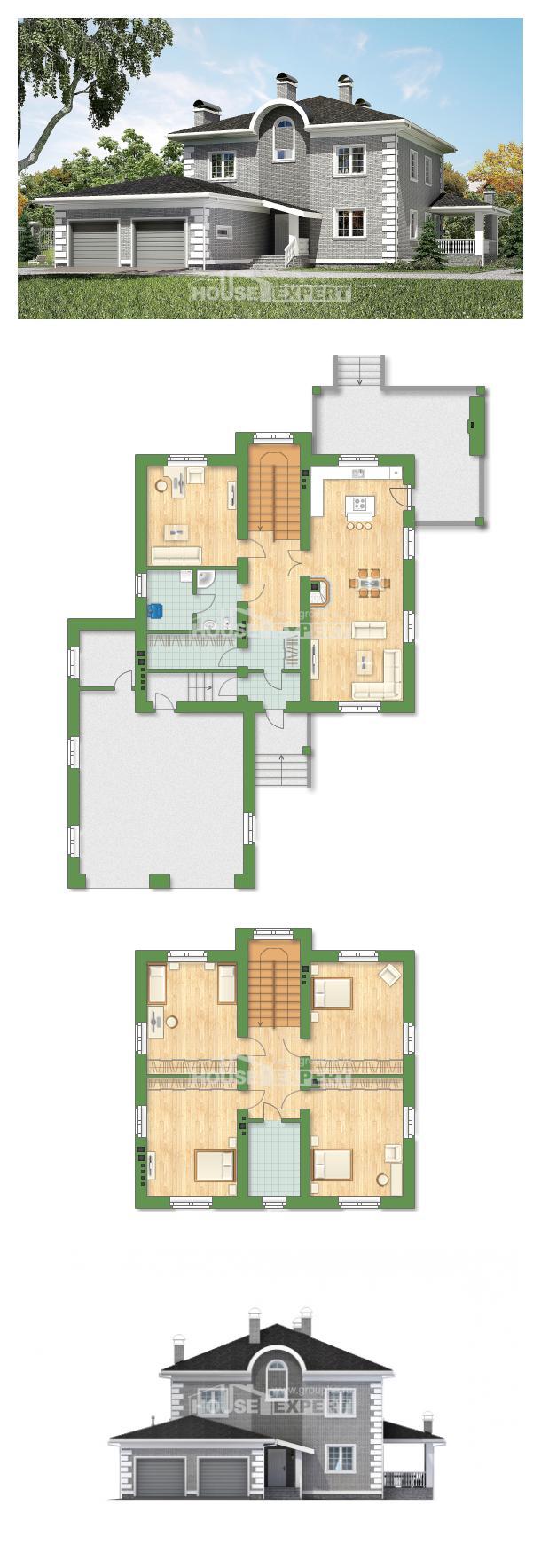 Проект дома 245-004-Л   House Expert