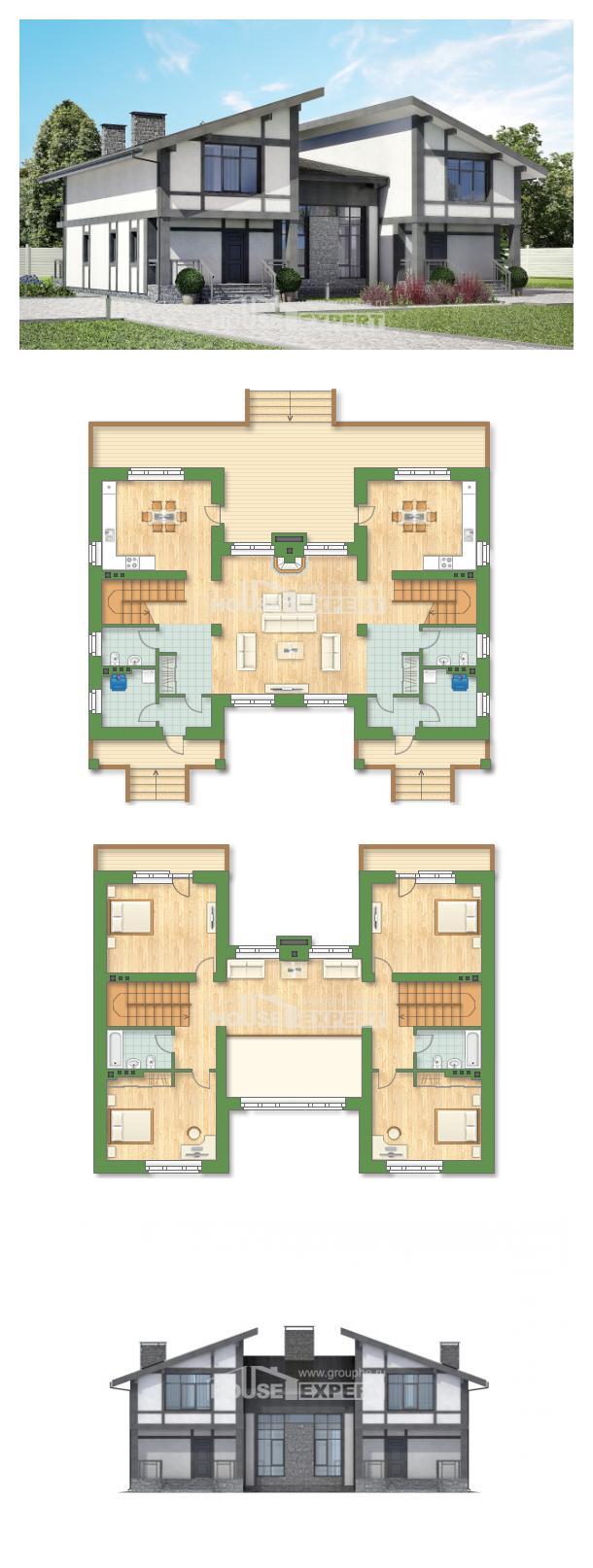 Проект дома 280-002-П | House Expert
