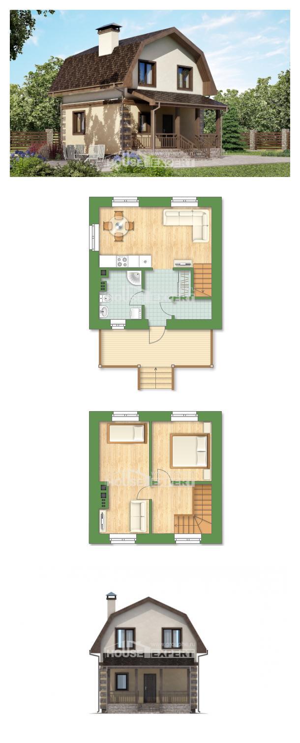 Проект дома 070-004-П | House Expert