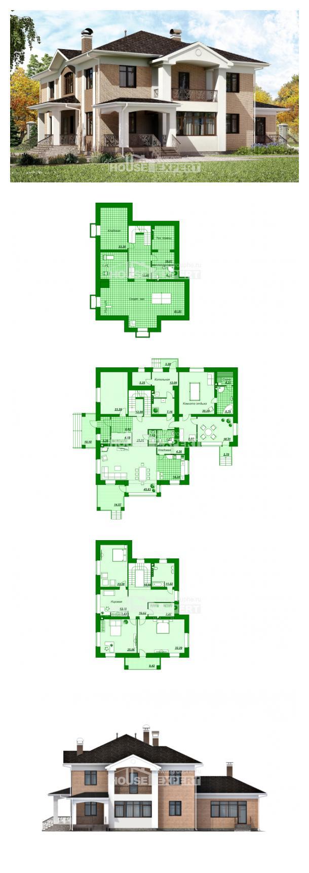 Проект дома 520-001-П | House Expert