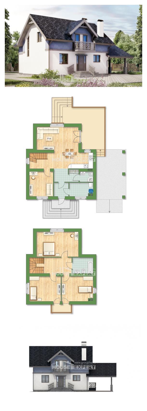 Проект дома 150-011-П | House Expert