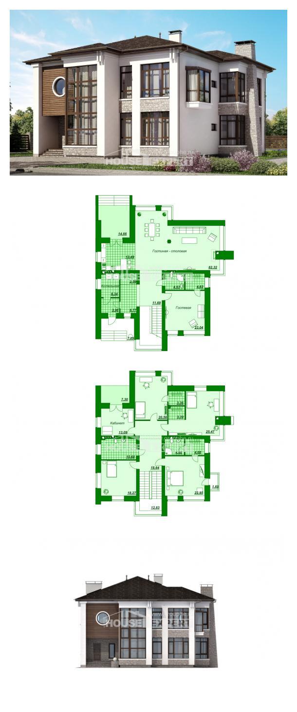 Проект дома 300-005-П   House Expert