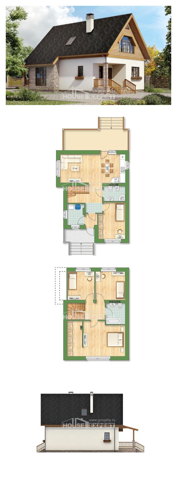 Проект дома 140-001-Л | House Expert