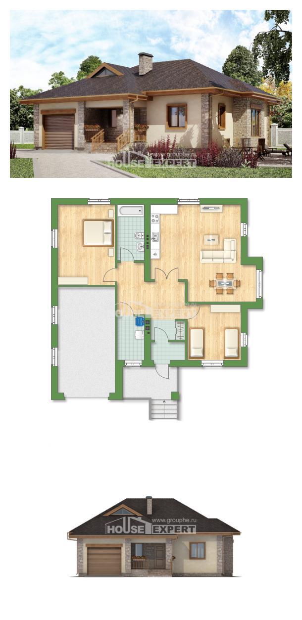 Проект дома 130-006-Л | House Expert