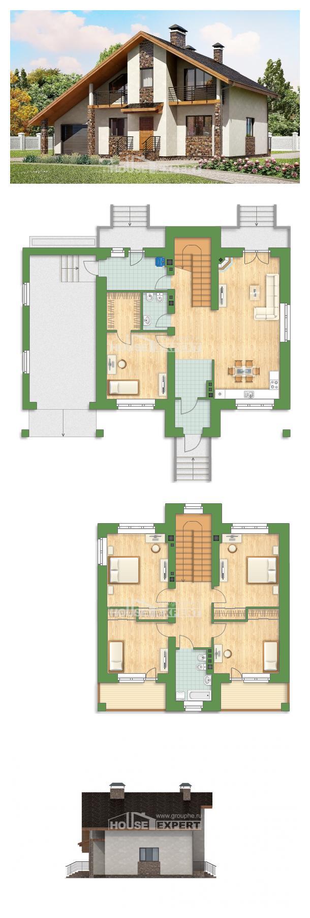 Проект дома 180-008-Л | House Expert