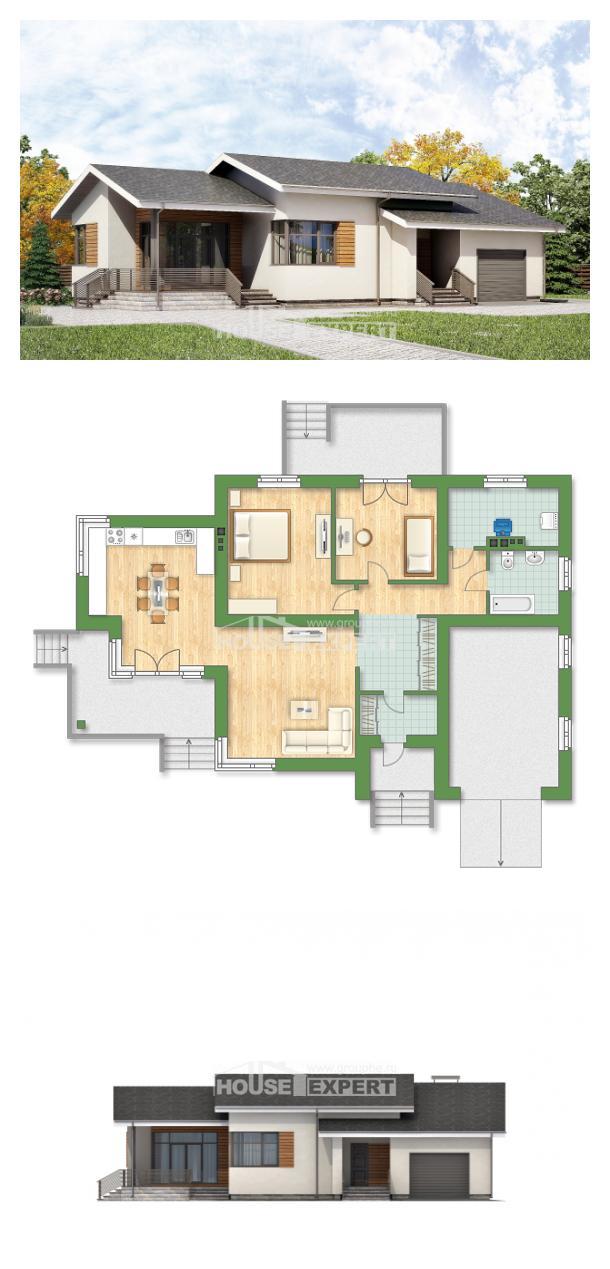 Проект дома 135-002-П   House Expert