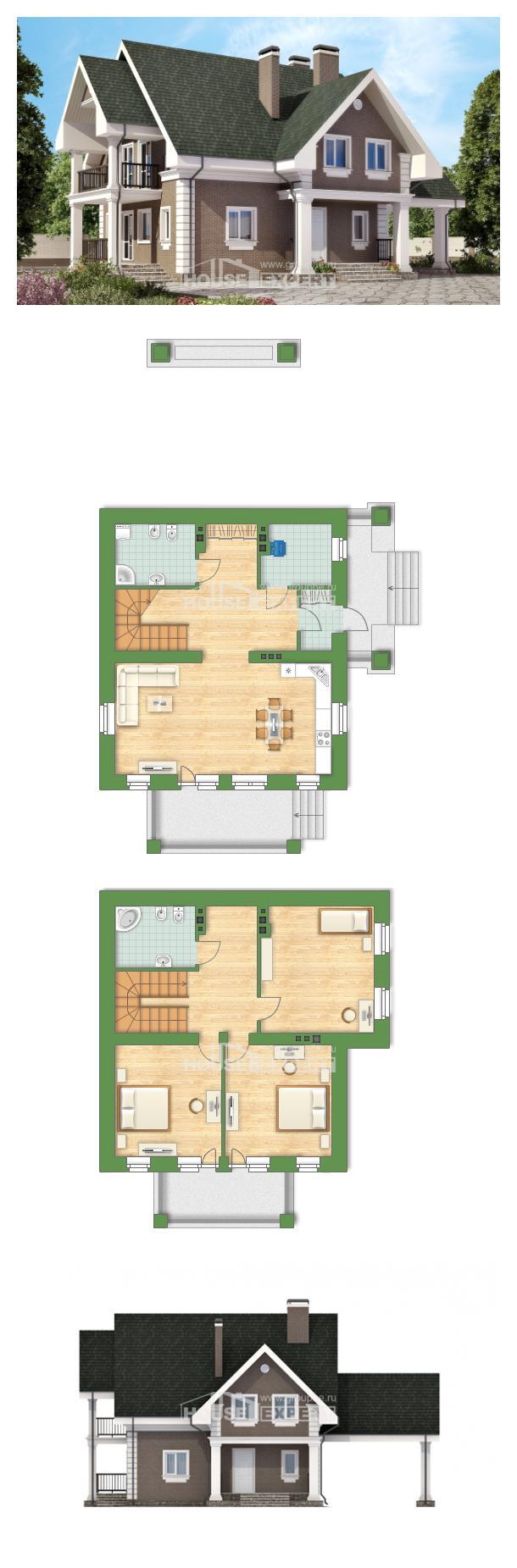 Проект дома 140-003-П   House Expert