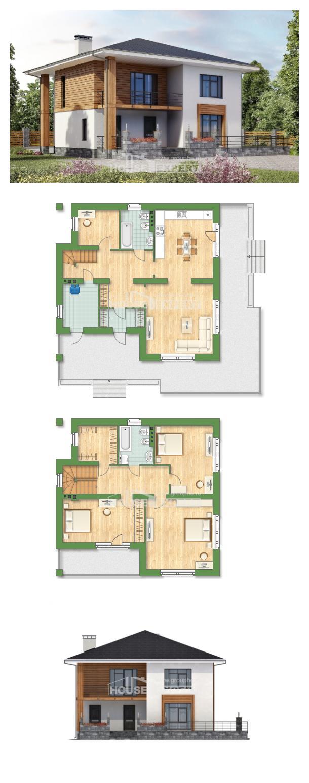 Проект дома 180-015-П   House Expert