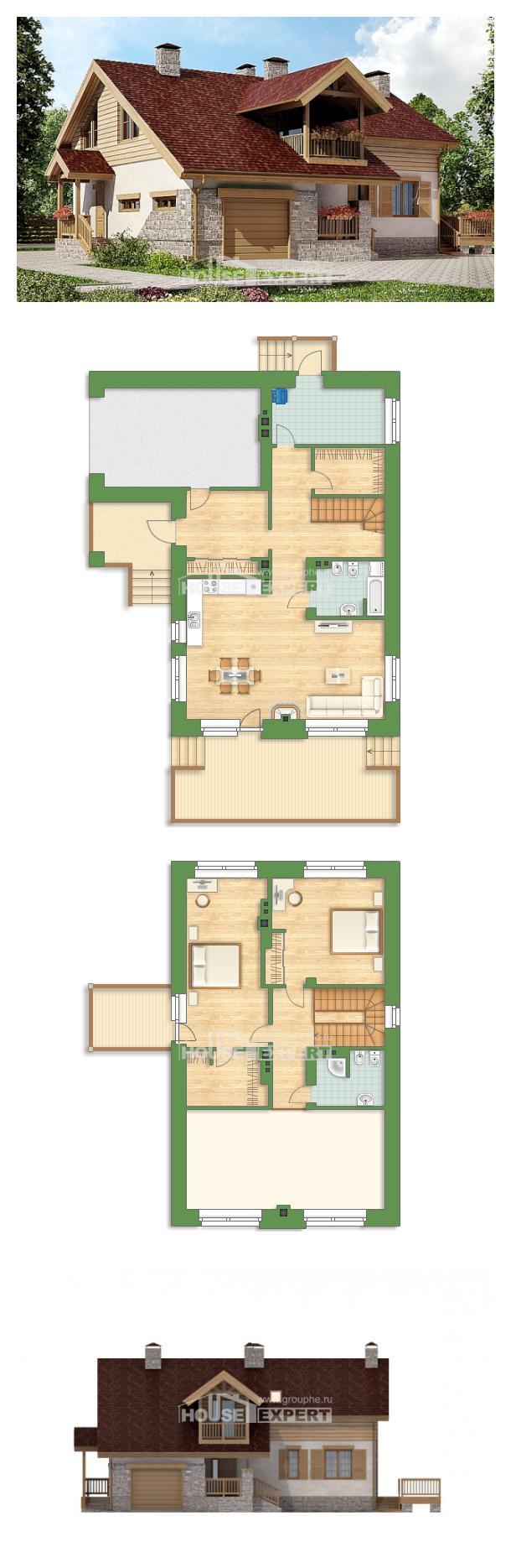 Проект дома 165-002-П | House Expert