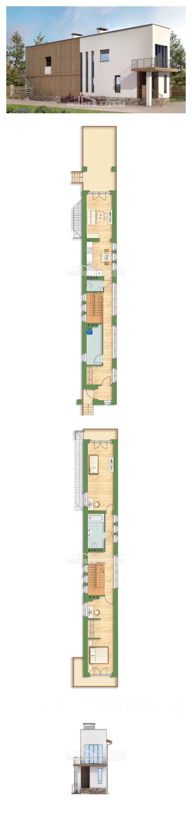Проект дома 100-003-Л | House Expert