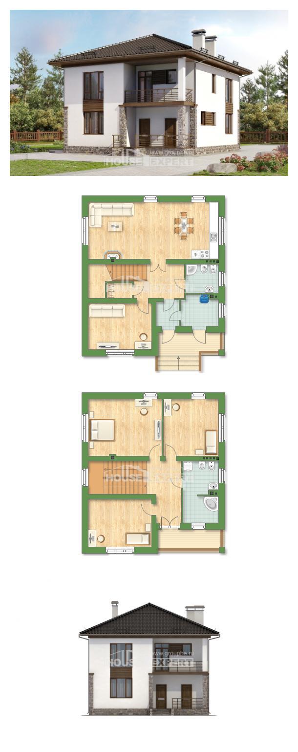 Проект дома 170-005-П   House Expert
