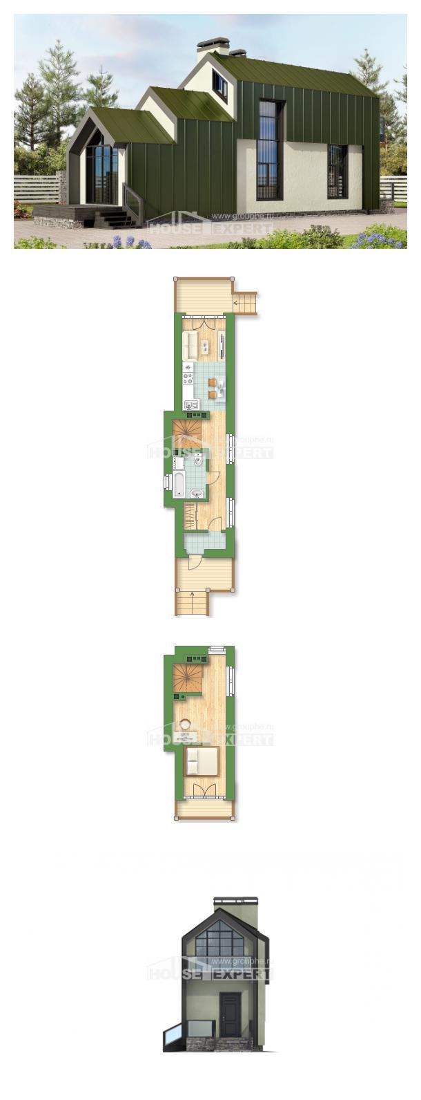 Проект дома 060-006-Л | House Expert