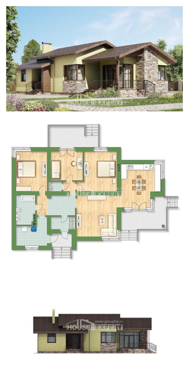 Проект дома 130-007-Л   House Expert