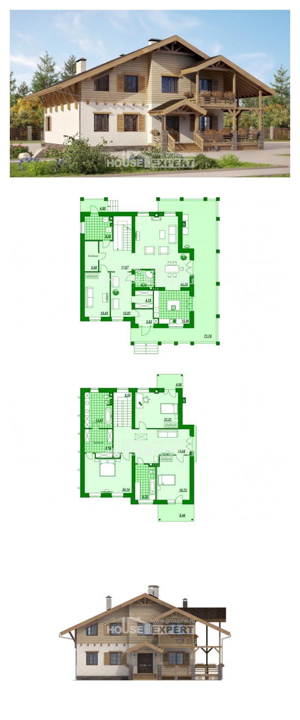 Проект дома 260-001-Л | House Expert