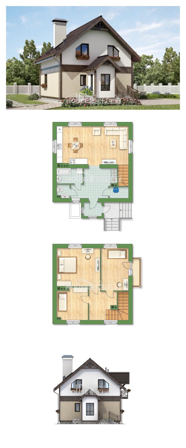 Проект дома 105-001-П | House Expert