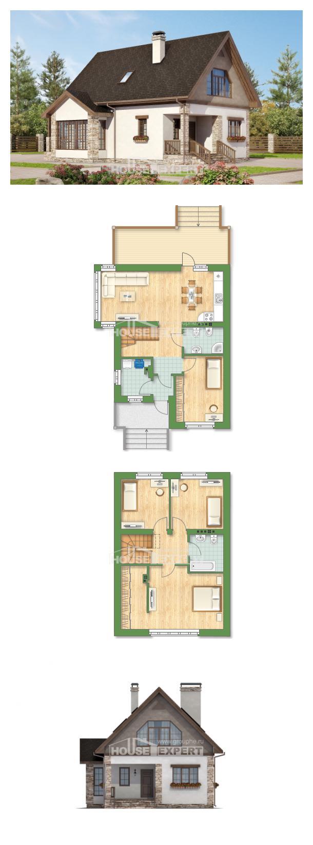 Проект дома 140-002-Л | House Expert