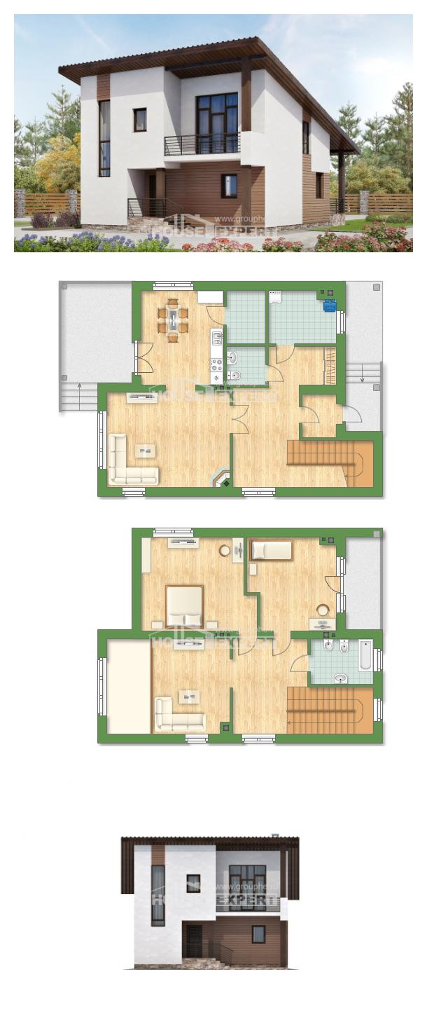 Проект дома 140-005-П   House Expert