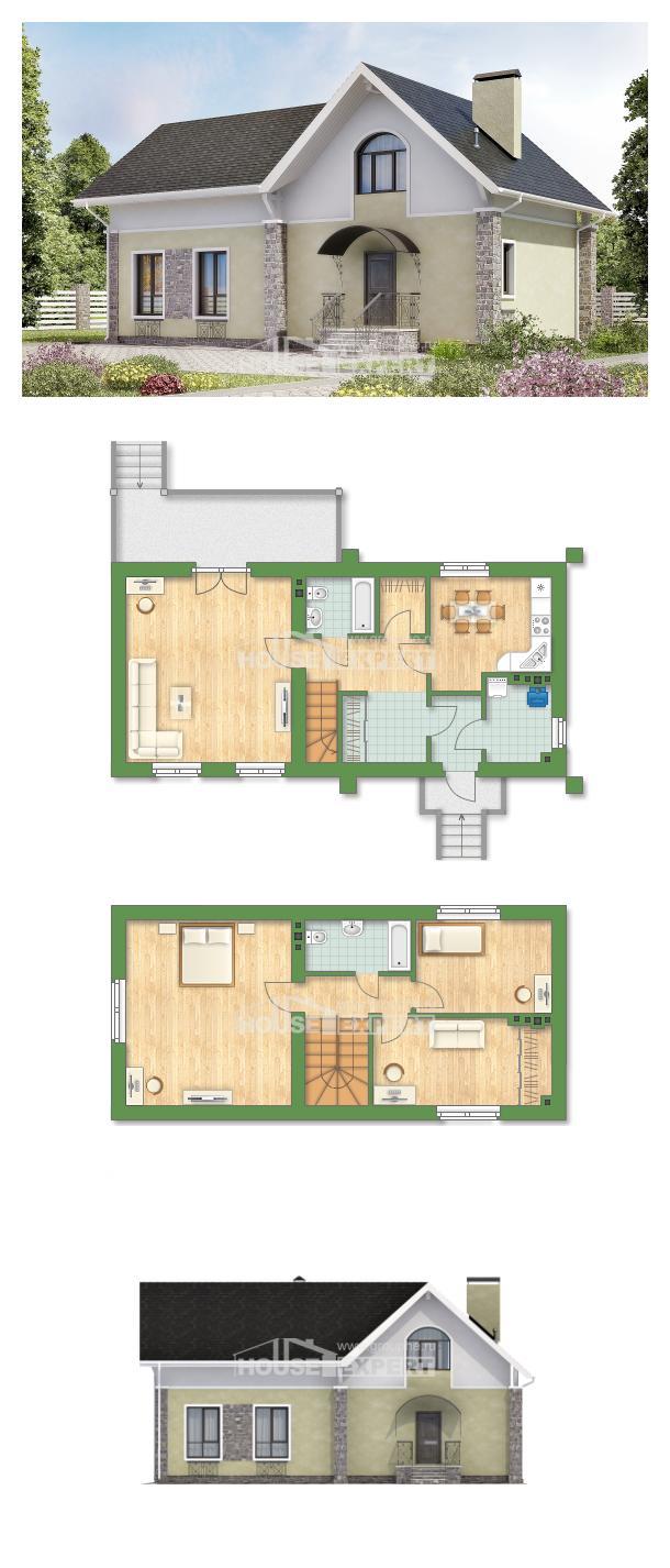 Проект дома 150-012-П   House Expert