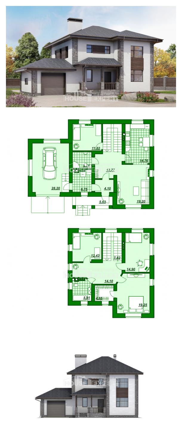 Проект дома 185-004-Л | House Expert