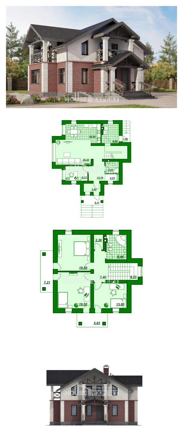 Проект дома 160-014-Л | House Expert