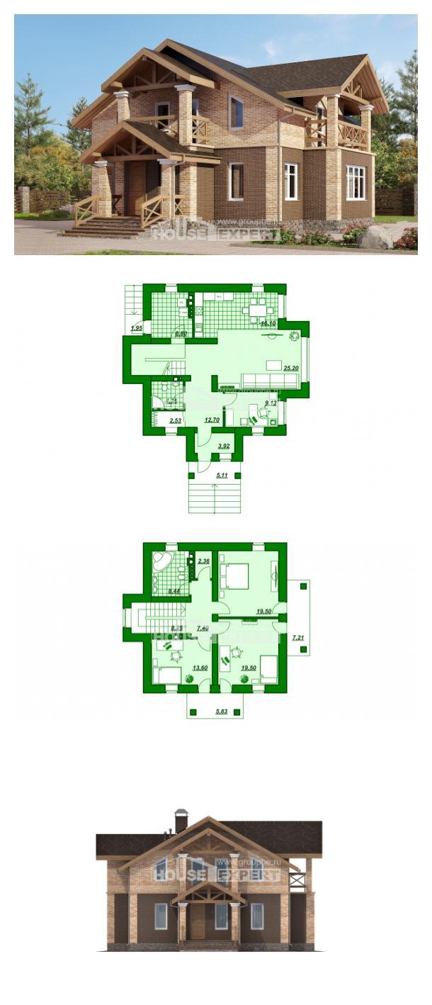 Проект дома 160-014-П   House Expert